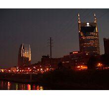 Nashville Dusk Photographic Print