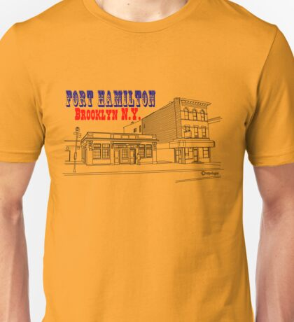 Fort Hamilton in Brooklyn, New York Unisex T-Shirt