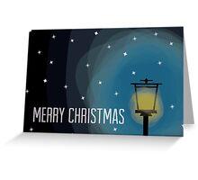 Lamp Post - Christmas Card Greeting Card