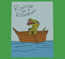 Raptor In A Rowboat Kids Clothes