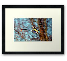 RC Helicopter Framed Print