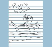 Looseleaf Raptor In A Rowboat T-Shirt