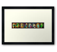 Women of Farscape Framed Print
