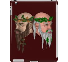 The Oak And Holly Kings iPad Case/Skin