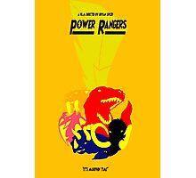 Go Go Power Rangers! Photographic Print