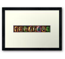 Men of Farscape Framed Print
