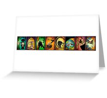 Creatures of Farscape Greeting Card