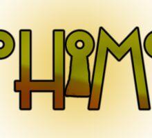 Alohomora - Harry Potter spells Sticker