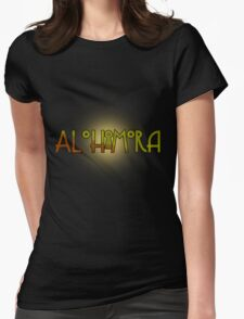 Alohomora - Harry Potter spells Womens Fitted T-Shirt
