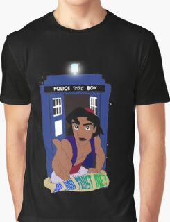 Doctor Who Aladdin mashup - Do you trust me? Graphic T-Shirt