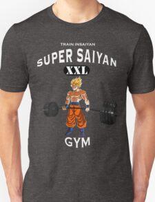 Super Saiyan Gym White T-Shirt