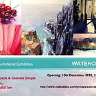 Special Watercolor Exhibition - December 2012 by solo-exhibition