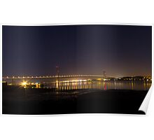 The Forth road bridge Poster