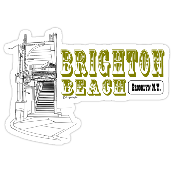 Brighton Beach by Daniel Gallegos