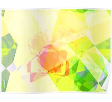 Abstract Polygons 120 Poster