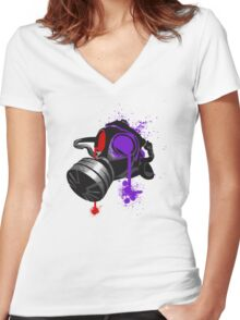 I can see clearly now Women's Fitted V-Neck T-Shirt