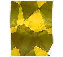 Abstract Polygons 140 Poster
