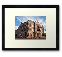 Hall of Justice Framed Print