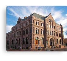 Hall of Justice Canvas Print