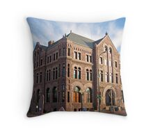 Hall of Justice Throw Pillow