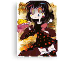 (LTD) Magical Girl Collection X - Dessert Witch Canvas Print