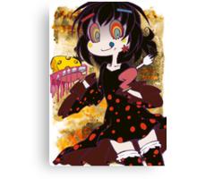 (LTD) Magical Girl Collection X - Dessert Witch Canvas Print
