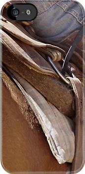 Rustic Cowboy - Iphone and Ipod Case/deflector by Penny Kittel