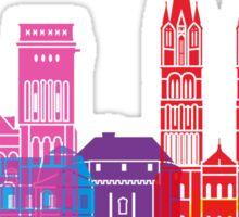 Caen skyline pop Sticker