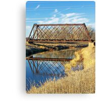 Rusty Reflection Canvas Print