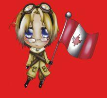 Chibi Canada Kids Tee