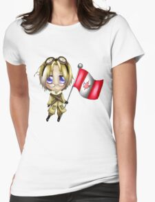 Chibi Canada Womens Fitted T-Shirt