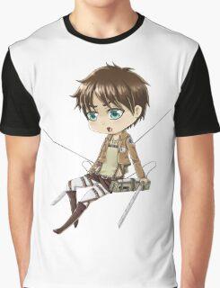Chibi Eren Graphic T-Shirt