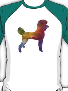 Poodle 01 in watercolor T-Shirt