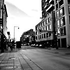 B&W Off of 16th by Jake Kauffman