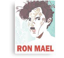 RON MAEL natural pattern design Canvas Print