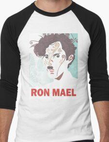 RON MAEL natural pattern design Men's Baseball ¾ T-Shirt