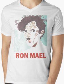 RON MAEL natural pattern design Mens V-Neck T-Shirt
