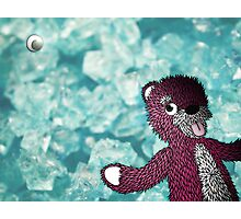 Breaking Bad Pink Teddy Photographic Print