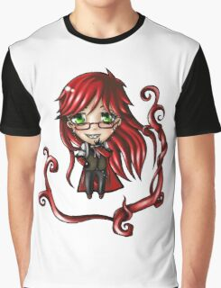 Chibi Grell Graphic T-Shirt