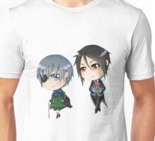 Chibi Ciel & Sebastian Unisex T-Shirt