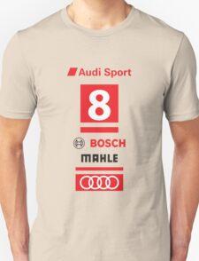 Audi R18 e-tron #8 LeMans Tribute T-Shirt