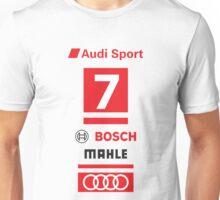 Audi R18 e-tron #7 LeMans Tribute Unisex T-Shirt