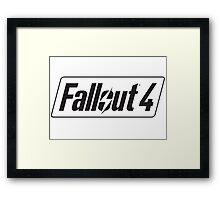 Fallout 4 logo Framed Print