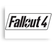 Fallout 4 logo Canvas Print