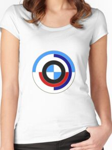 BMW M Sport Tribute Women's Fitted Scoop T-Shirt