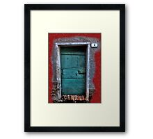 Number Three Framed Print