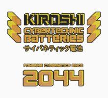 Kiroshi Cybertechnic Batteries - Yellow/Orange Baby Tee