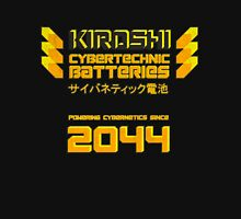 Kiroshi Cybertechnic Batteries - Yellow/Orange Unisex T-Shirt
