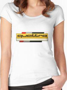 Audi Quattro Tribute Women's Fitted Scoop T-Shirt
