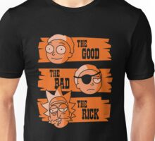 The Good Morty, The Bad Morty, and the Rick Unisex T-Shirt